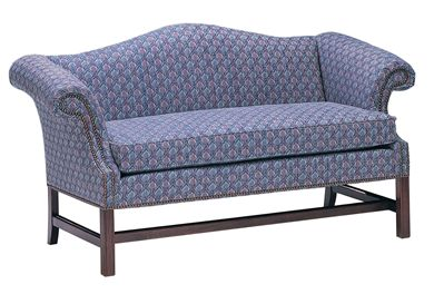 Picture of Reception Lounge Sofa with Chippendale Legs