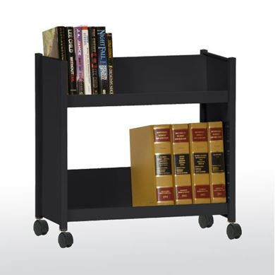 Picture of 2-Shelf Booktruck