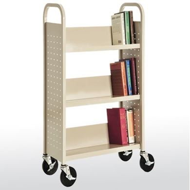 Picture of 3-Shelf Booktruck