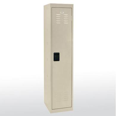 """Picture of 1-Tier Welded Storage Locker - 66""""H"""