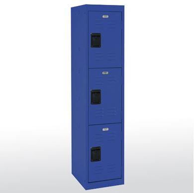 """Picture of 3 Tier Welded Storage Locker 66""""H"""