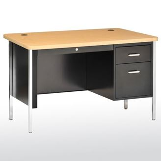 Picture of  Steel Teachers Desk