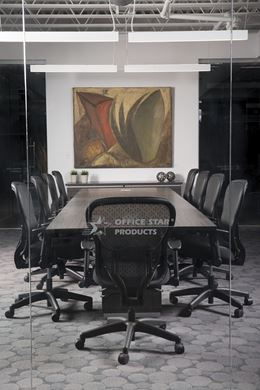 Picture of 10' Conference Table with Ergonomic Swivel Chairs