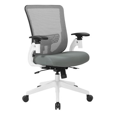 Picture of Mid Back Ergonomic Mesh Task Chair with Adjustable Lumbar