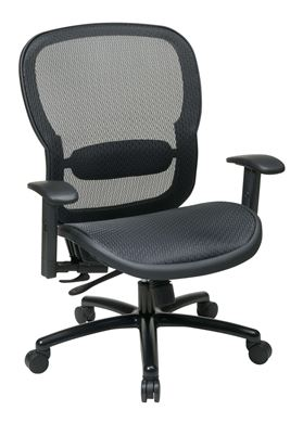 Picture of Big and Tall, Executive Breathable Mesh Seat and Back Chair
