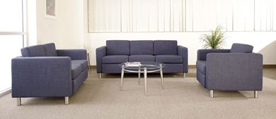 Picture of Lounge Sofas with Coffee and End Table