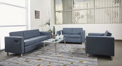 Picture of Lounge Set, Club Chair, Loveseat with Sofa