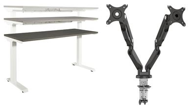 Picture of Pack of 3, Powered Height Adjustable Table