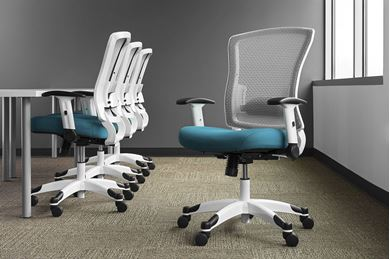 Picture of Pack of 4, Ergonomic Mesh Task Chair