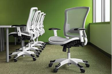 Picture of Pack of 5, Ergonomic Mesh Task Chair