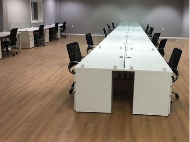Picture of 13 Seats, Shared Desking Workstation