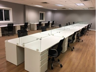 Picture of 17 Seats, Shared Desking Workstation