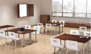Picture of Modular Training Table Room Setting